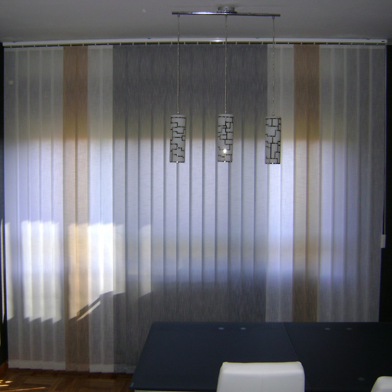 Cortinas verticales madrid cortinas cristal madrid with - Cortinas verticales madrid ...